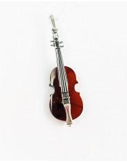Bursztynowe skrzypce - niezwykła zawieszka