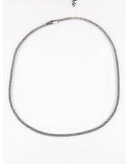Naszyjnik ze srebra z mocnym magnesem
