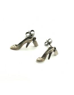 Kolczyki ze srebra szpilki