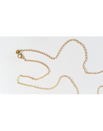Złoty łańcuszek 333 50 cm