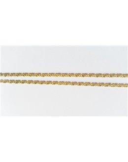 Złoty łańcuszek 585 50 cm 74
